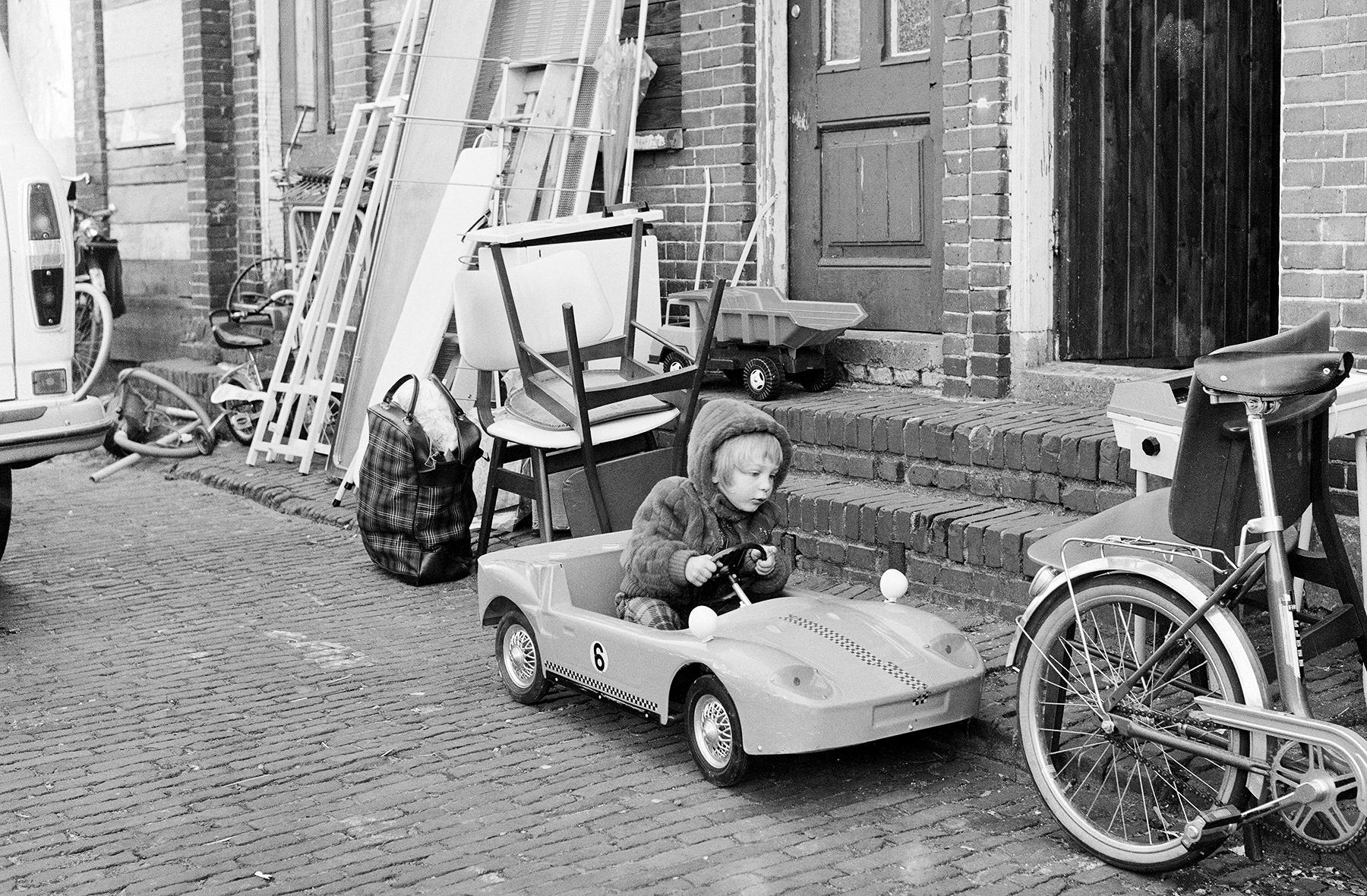 Davidstraat Groningen, 1973